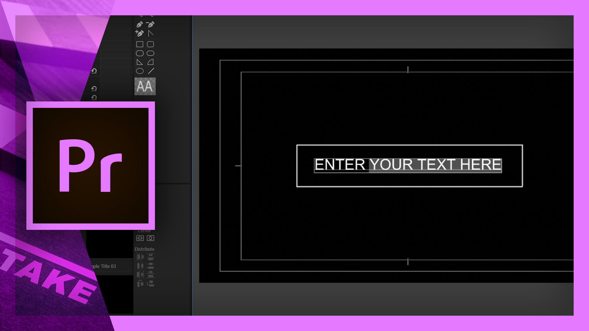 How to use simple titles in premiere pro cinecomnet for Premiere pro animated title templates