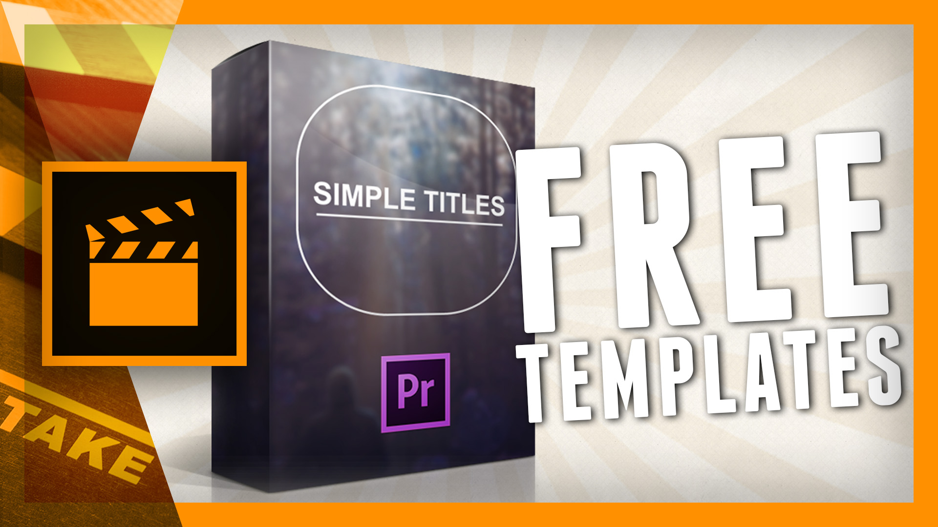 Simple titles is available for premiere pro cs6 for Free premiere pro title templates