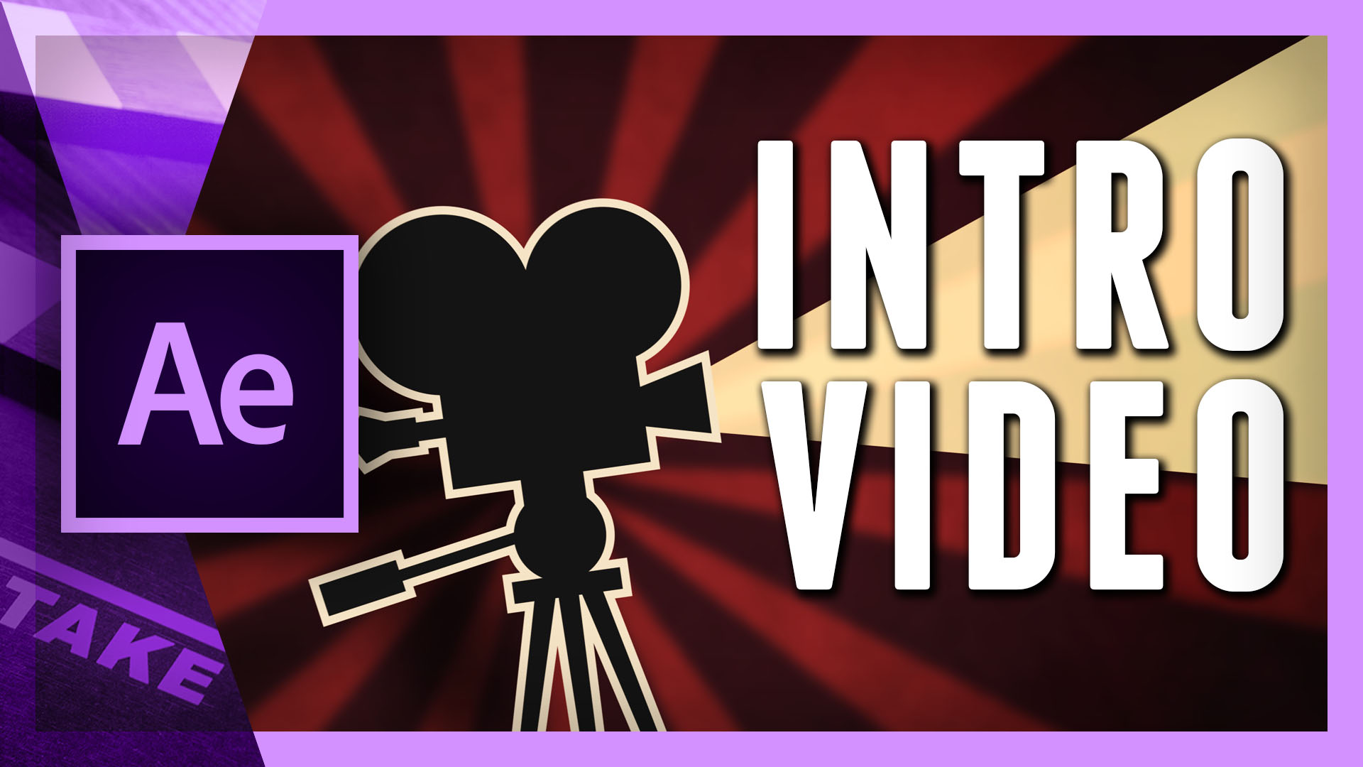 Make an intro animation video in After Effects | Cinecom.net