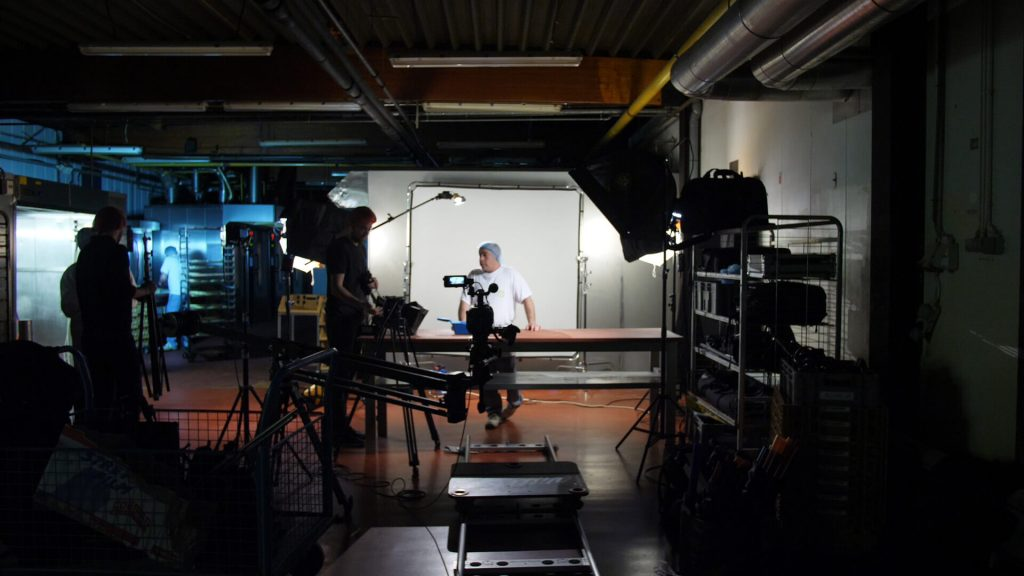 Light Setup Corporate Film bakery