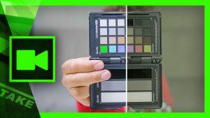 Calibrate Camera Xrite FilmMaker Kit