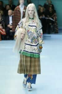 Gucci Challenge Model With Severed Head