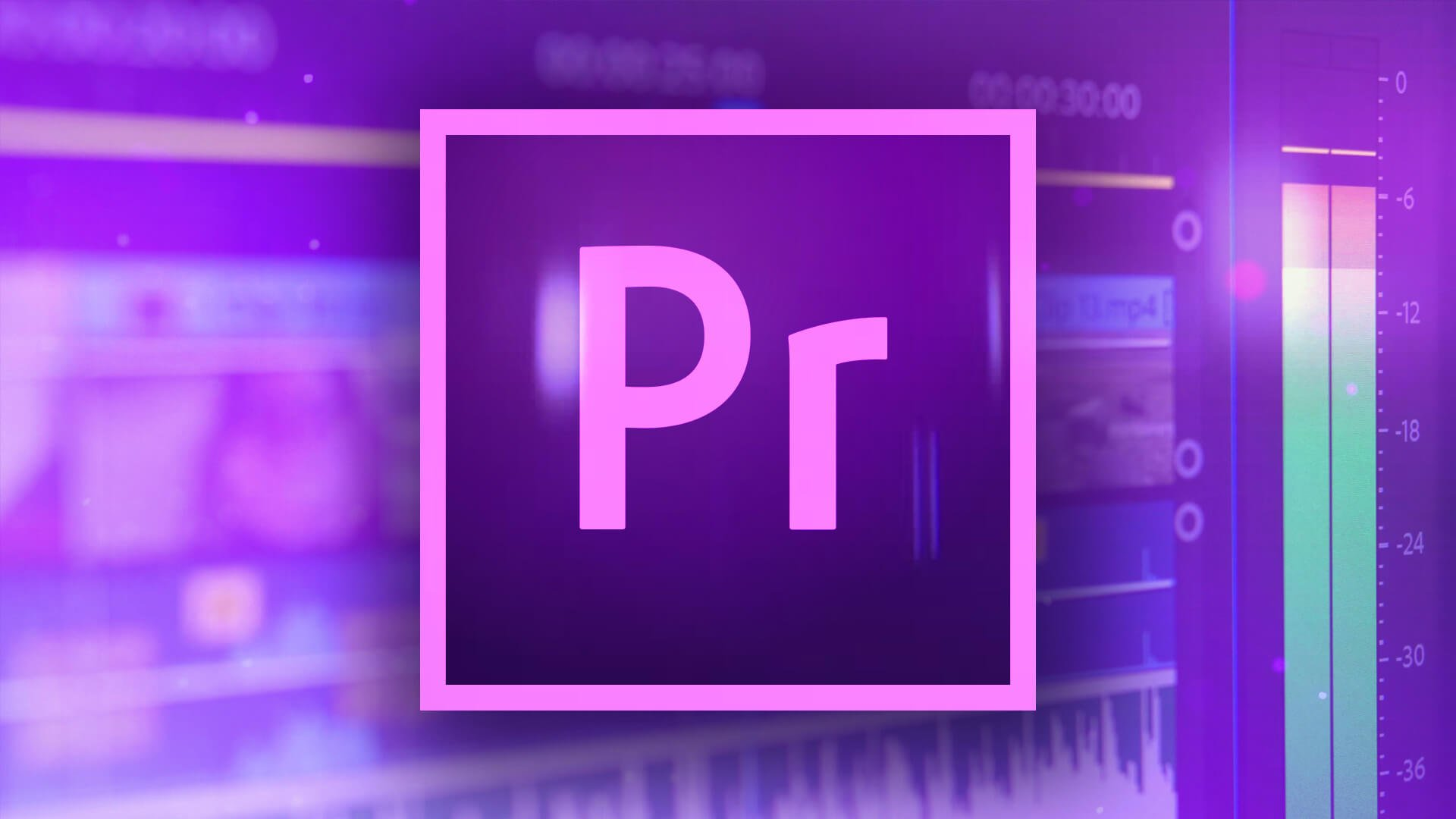 Learn Video Editing - Adobe Premiere Pro Class