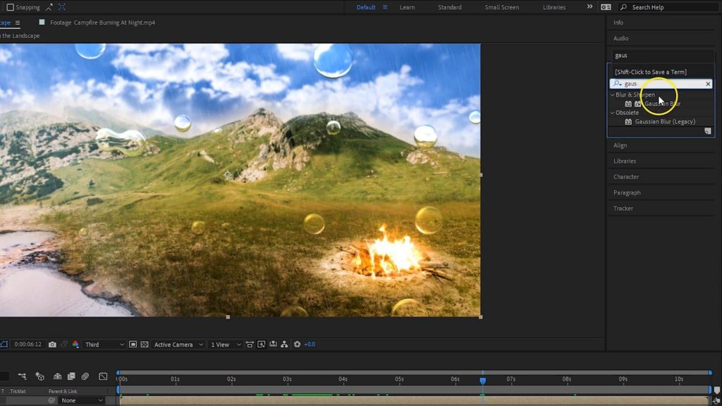 Adobe After Effects - Visual Effects