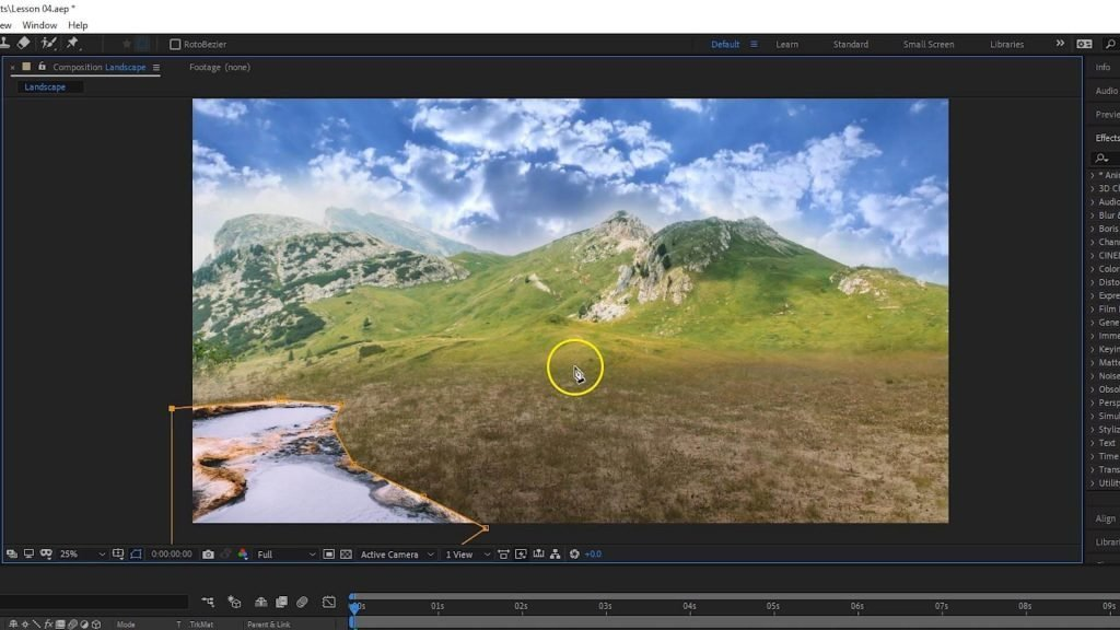 Adobe After Effects - Masking