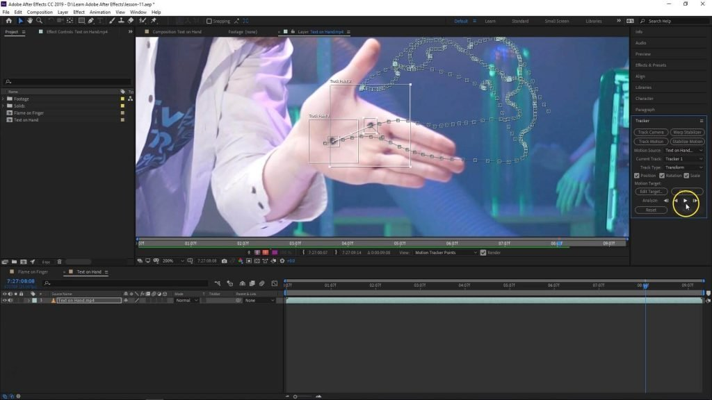 Adobe After Effects - Motion Tracking