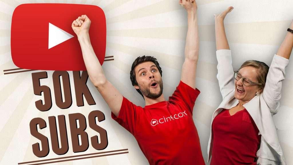 Cinecom 50k subscribers