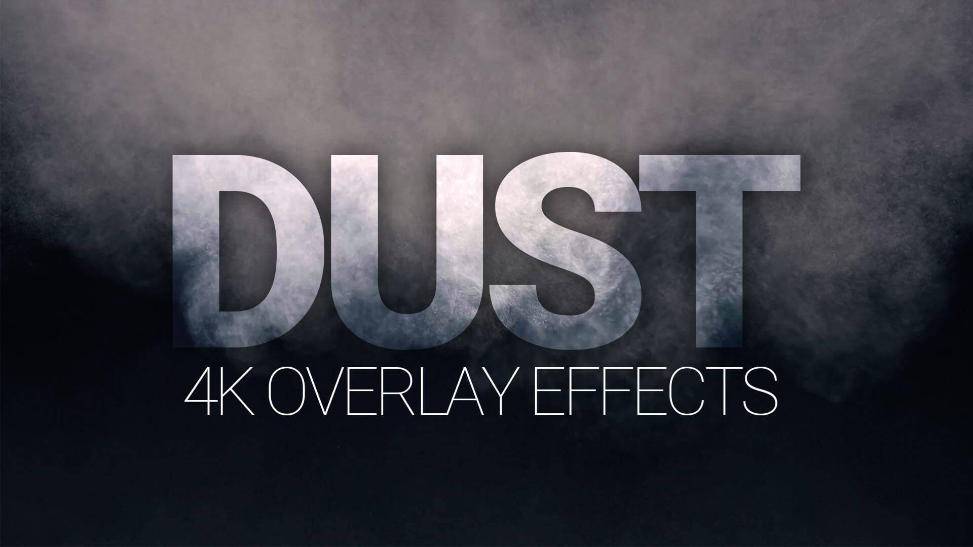 DUST - 4K Overlay Effects