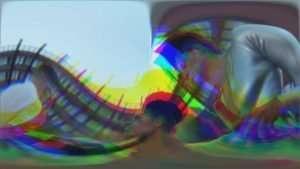 Split twirl down