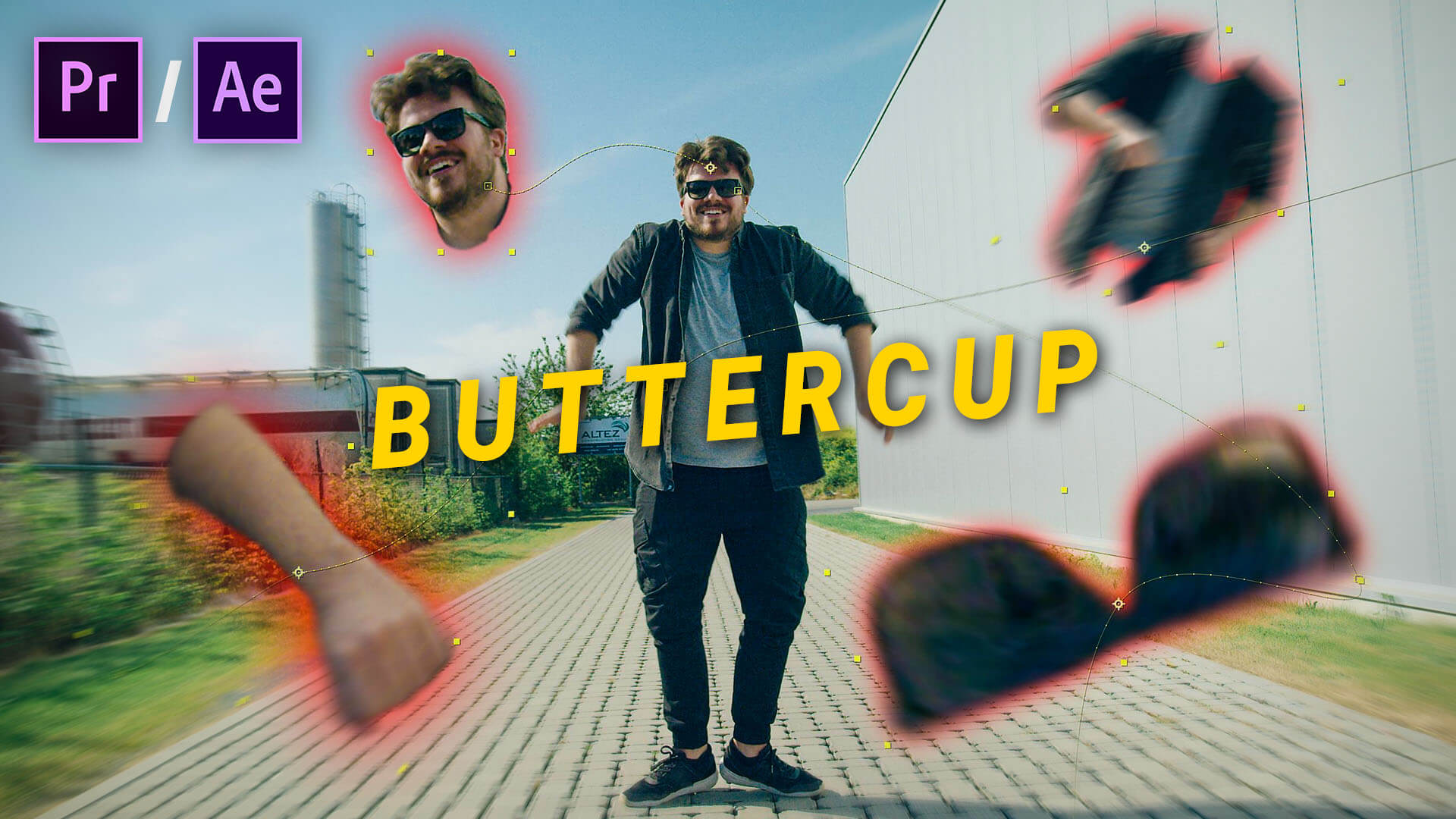 Buttercup challenge tutorial adobe after effects