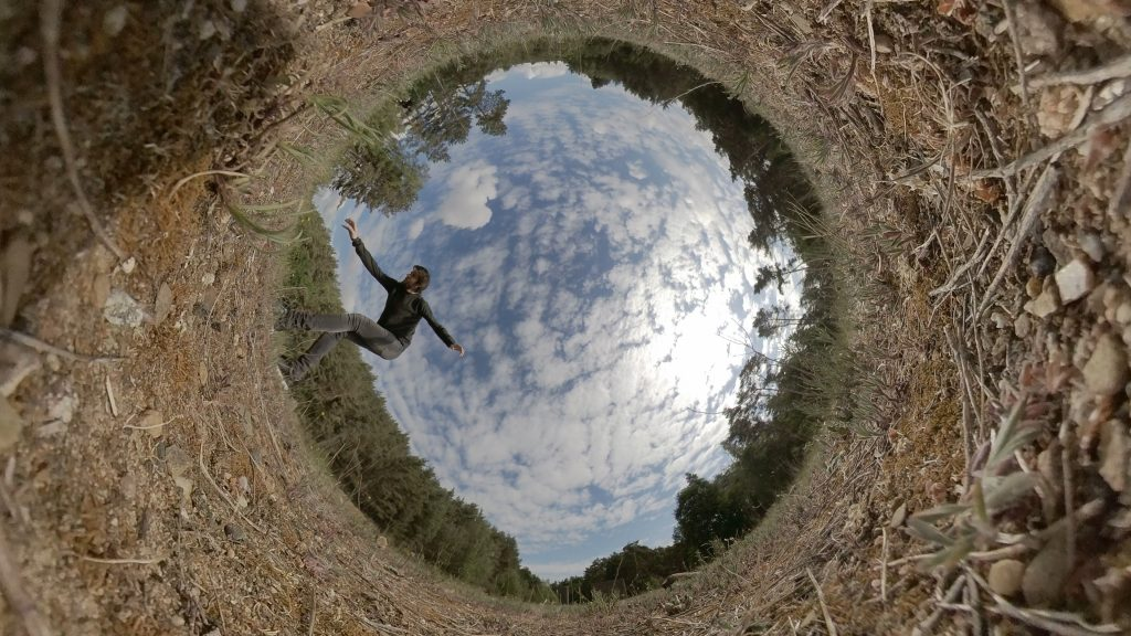 Tiny Planet Effect