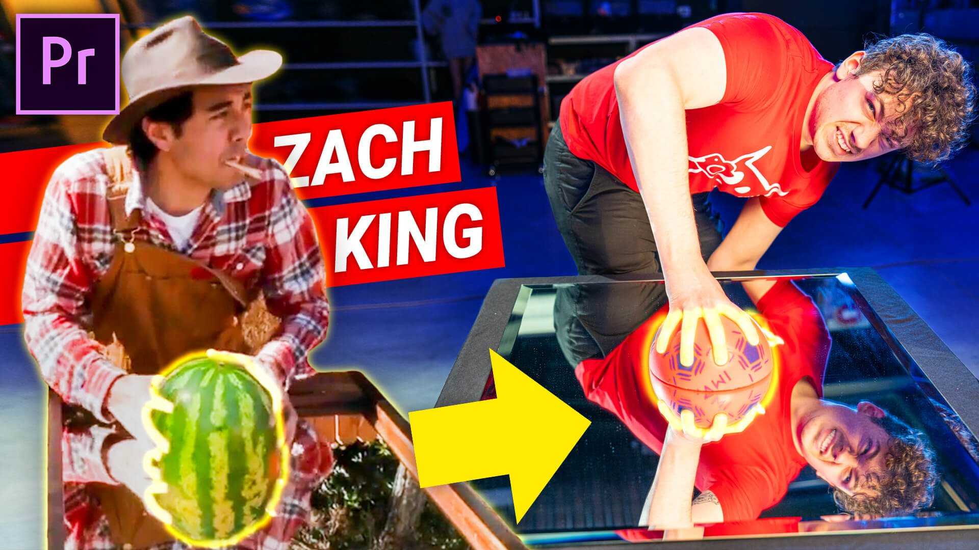 Zach King's Watermelon Mirror Trick Inside Premiere Pro
