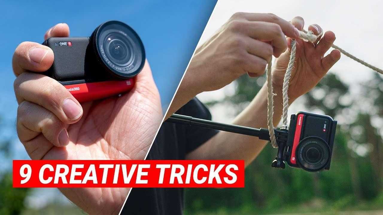 9 Creative Tricks using an Action Camera (Insta360)