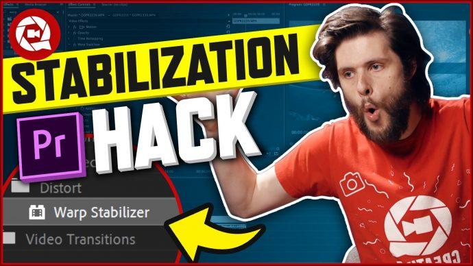 This Stabilization Hack in Premiere Pro Blew my Mind