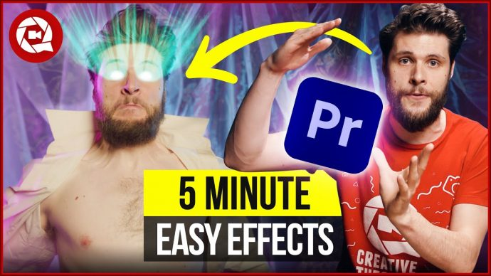 5 Easy VFX under 5 Minutes in Premiere Pro