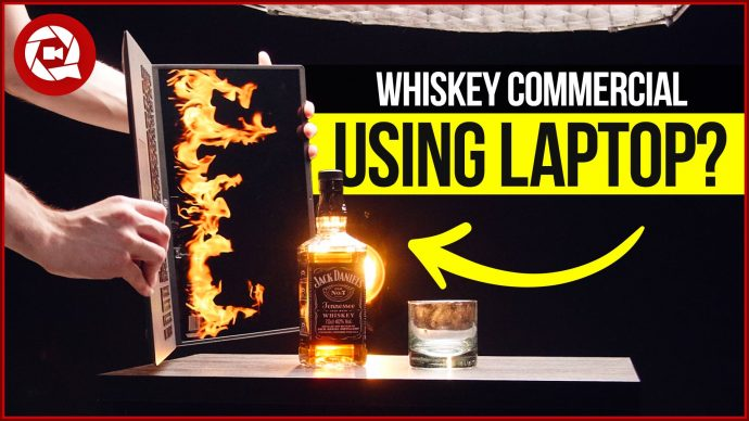 I shot a Whiskey Commercial using a Laptop