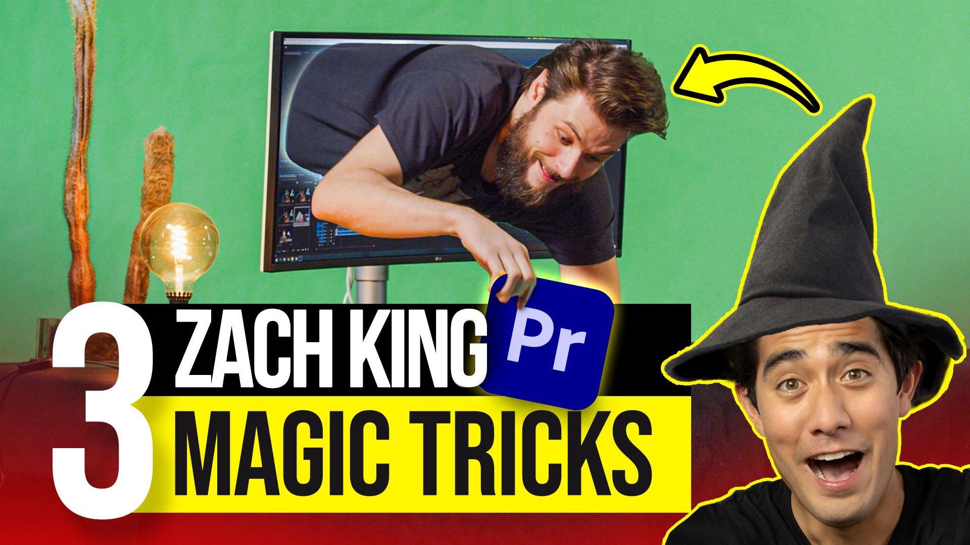 Zach King Editing Magic Premiere Pro Tutorial