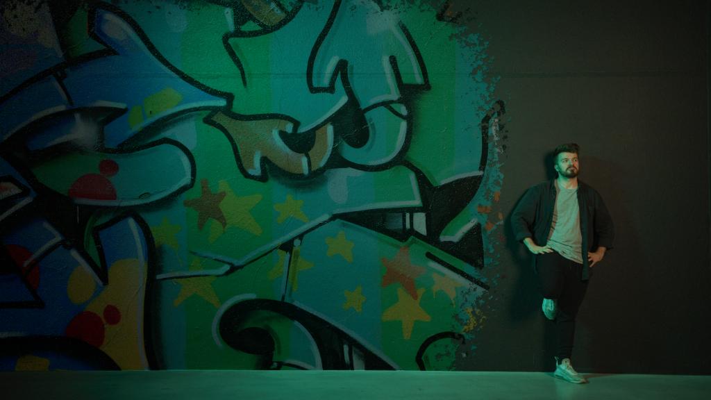 Graffiti Wall Effect