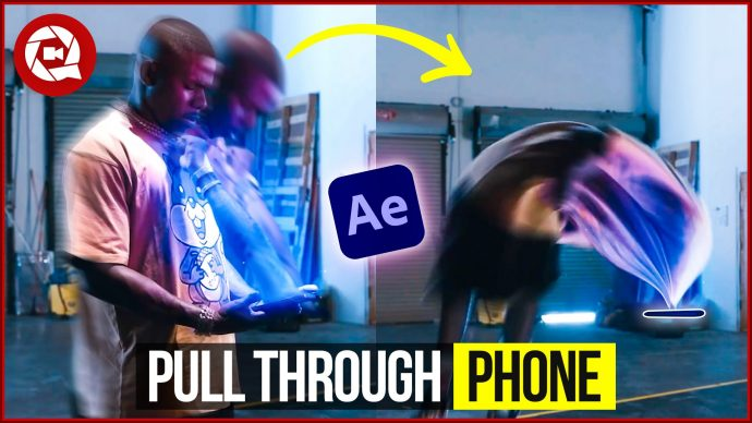 How To Get sucked Into Your Phone Like DaBaby (Adobe After Effects)