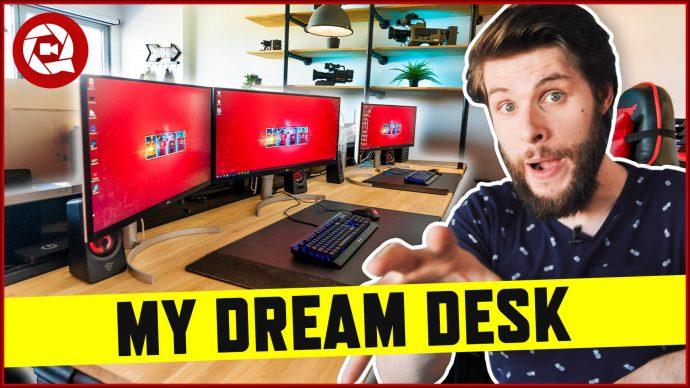 My Ultimate (massive) Dream Desk