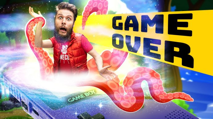 GAME OVER (Animated Short Film)