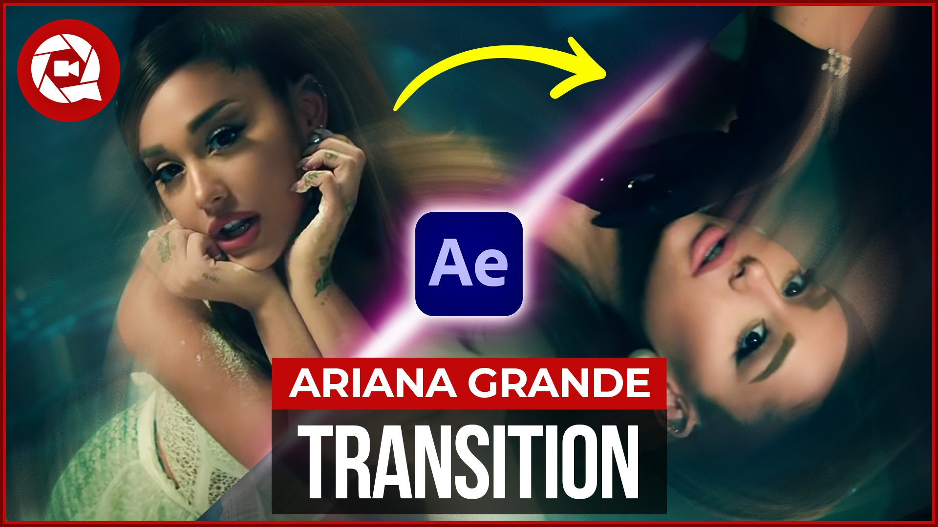 Ariana Grande Rotation Transition