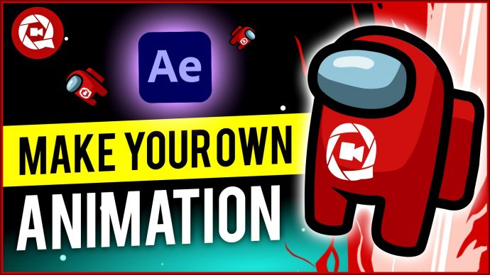 How to make a Character Animation from Among Us in After Effects