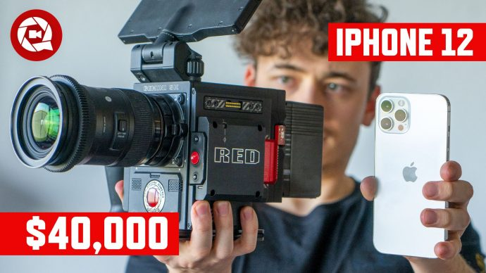 Hollywood RED VS iPhone12 Pro Max: Real life Comparison