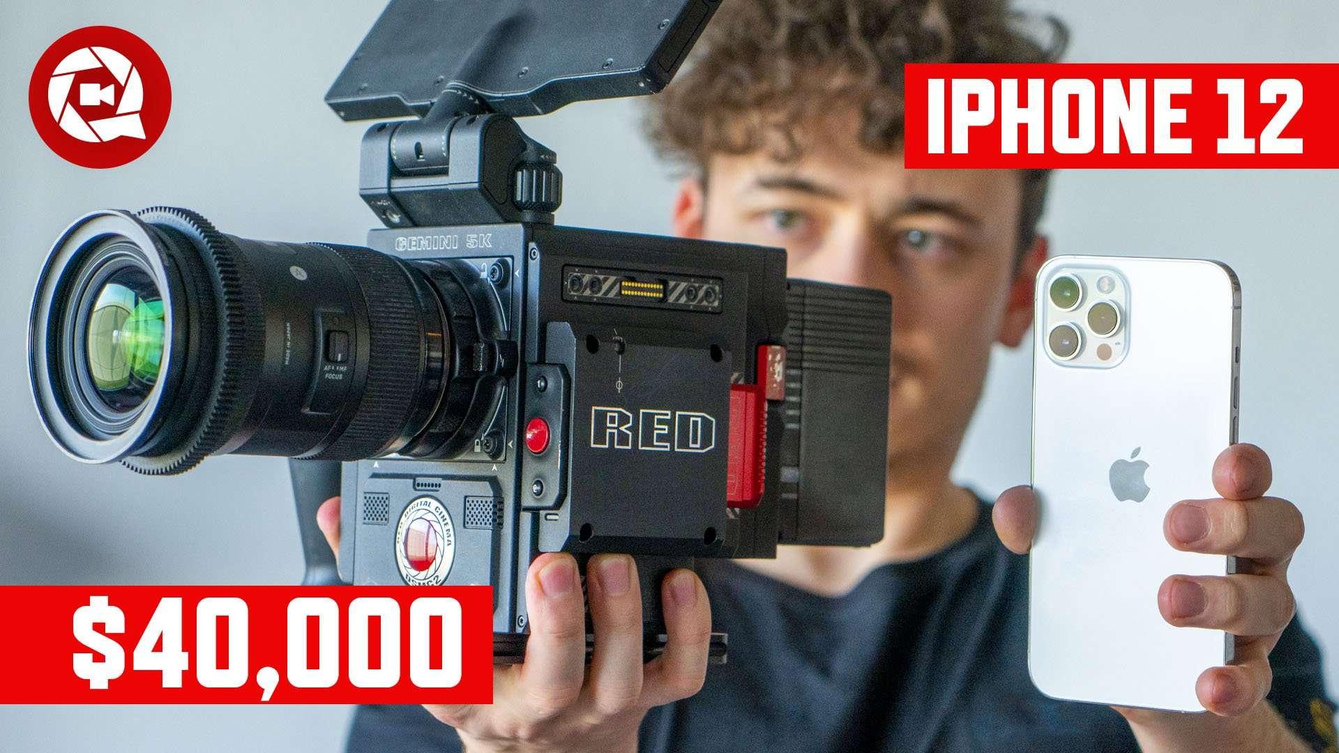 RED vs iPhone 12 Pro Comparison