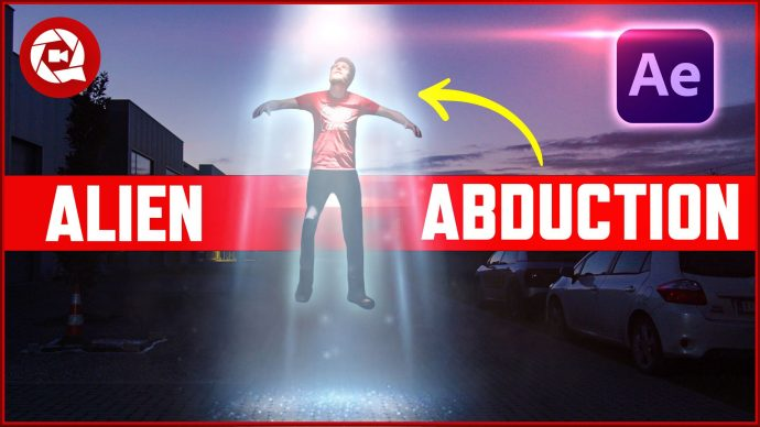 Fast & Easy After Effects Tutorial: Alien Tractor Beam