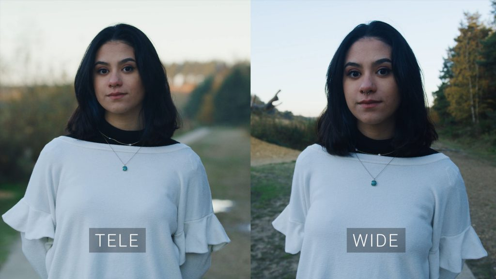 Focal Length Difference