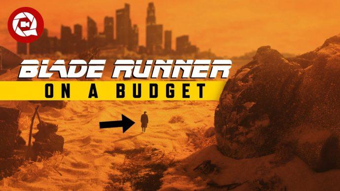 We Recreated the Blade Runner Set Under 50$!