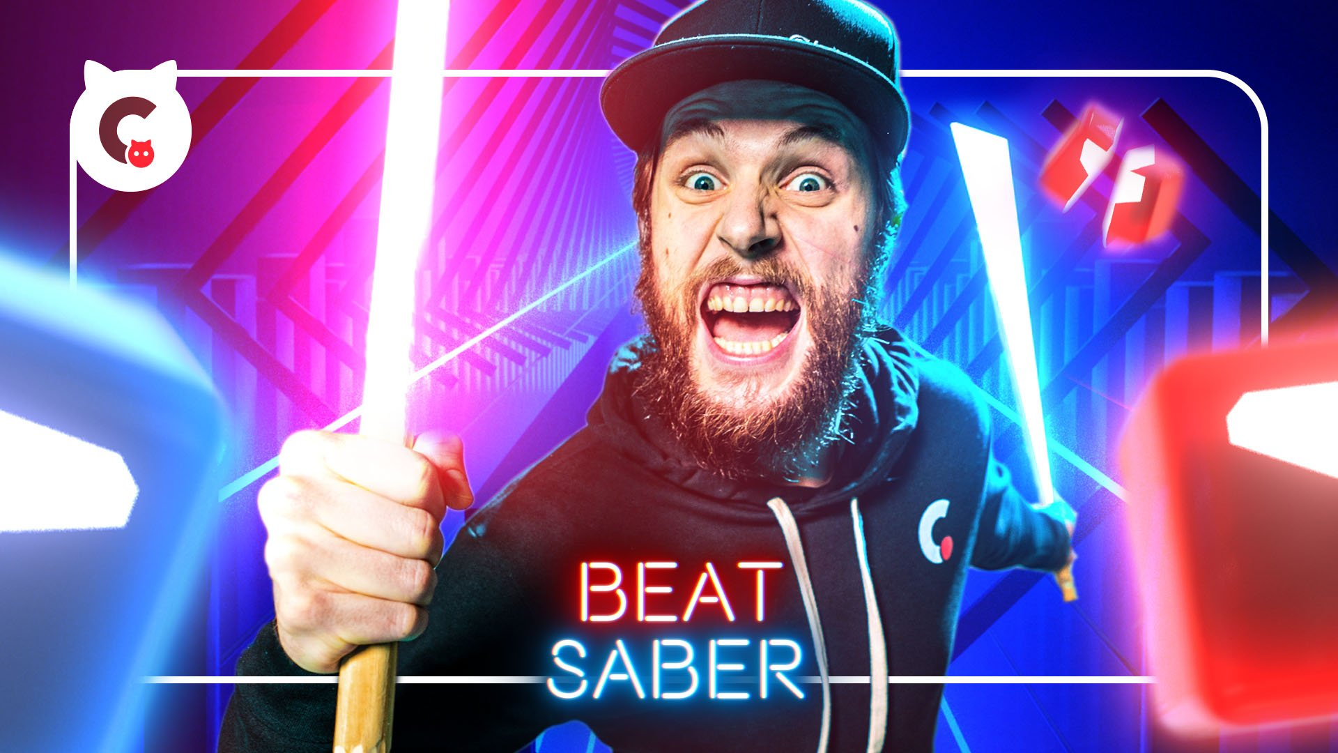 BeatSaber 3D animation Kevin Parry