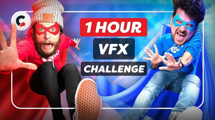 Editing a VFX Superhero Landing in 1 Hour