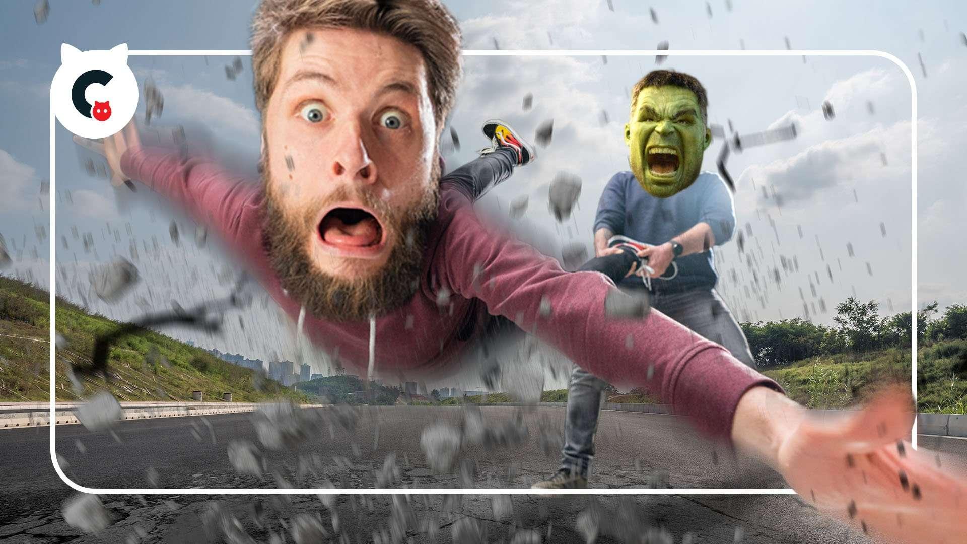Hulk Smash with VFX CopyCat
