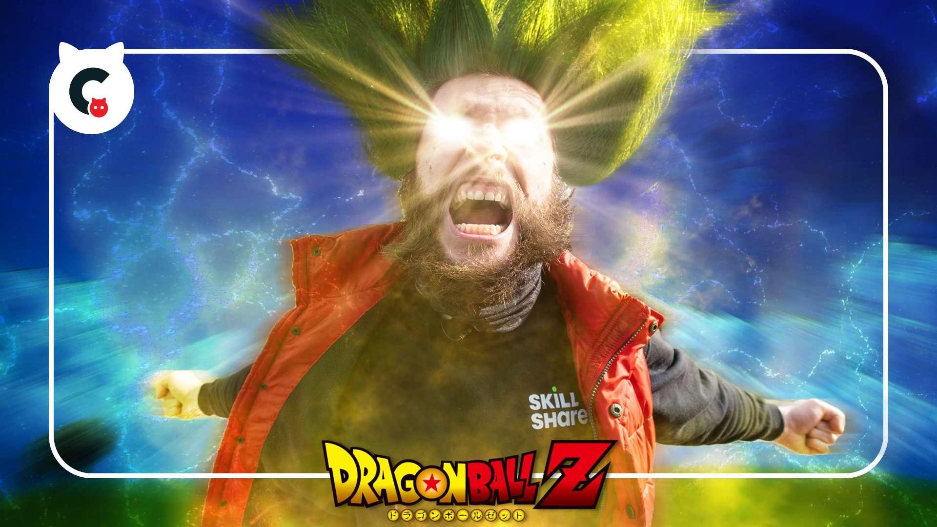 Super Saiyan Jordy (Dragonball Z Breakdown)