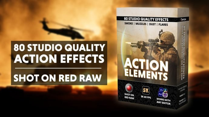 Action Elements Pack (Shot on RED)