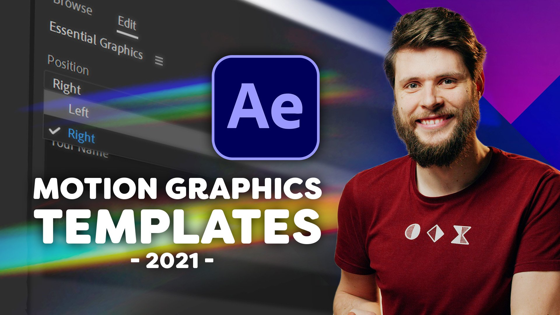 Motion Graphics Templates Course - After Effects