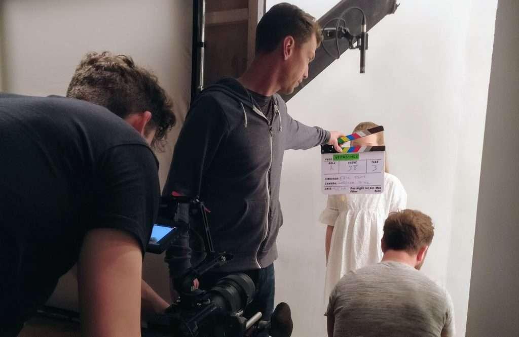 On the Film Set of Vengeance