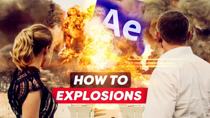 Compositing EXPLOSIONS like HOLLYWOOD (After Effects Tutorial)
