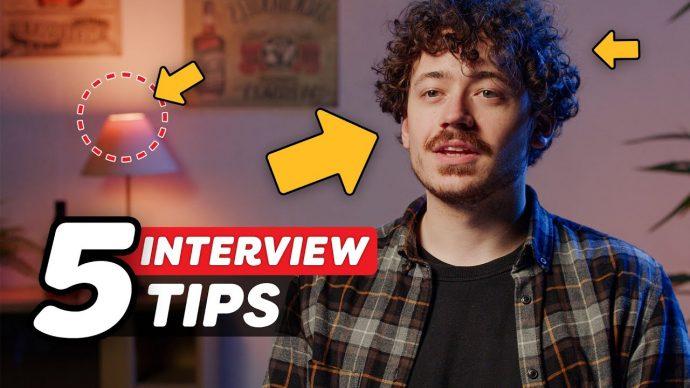5 Secrets to shoot a PRO Interview