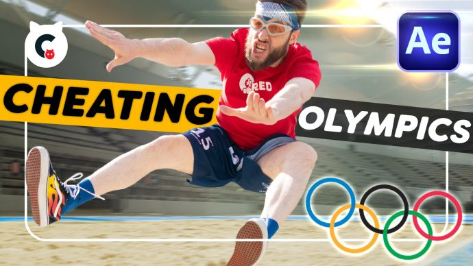 How To Cheat In The Olympics (After Effects Tutorial)