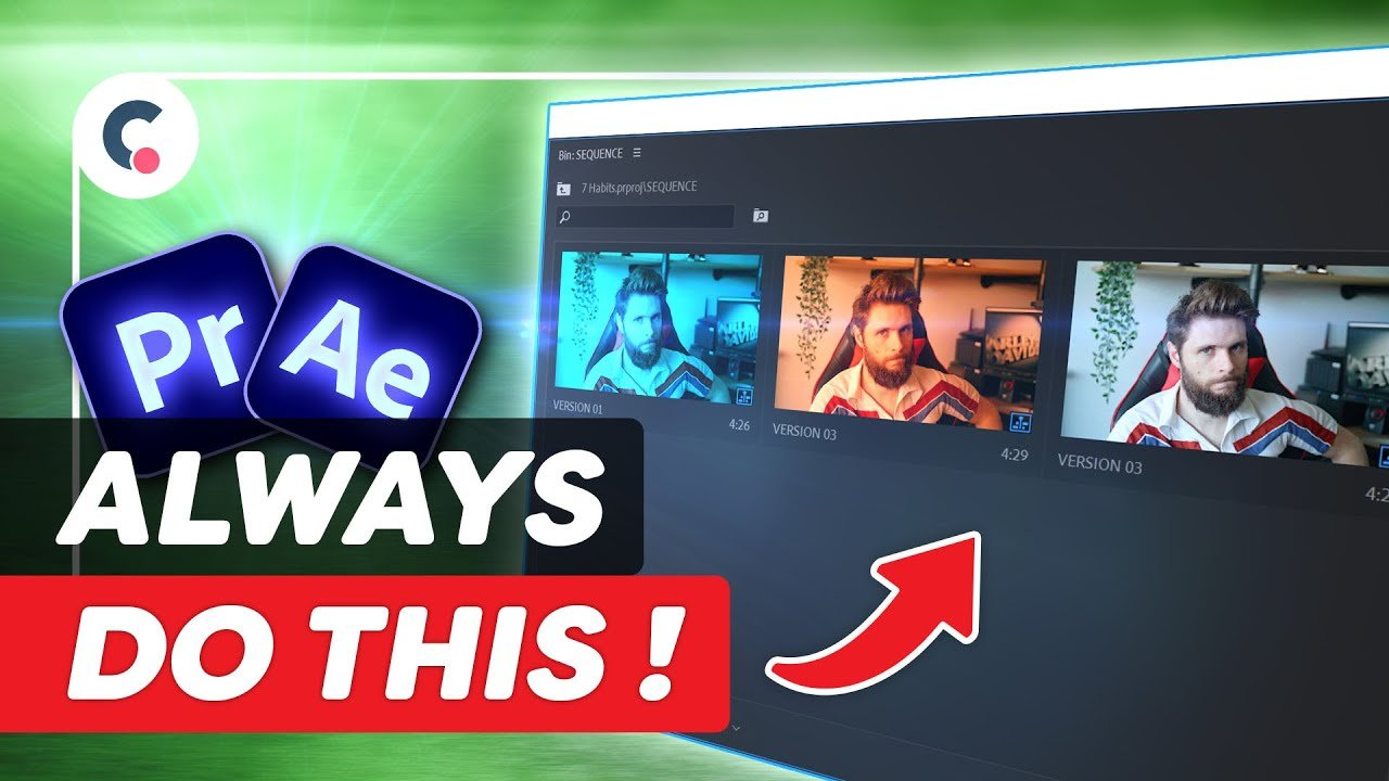 7 HABITS You Must Develop As A VIDEO EDITOR