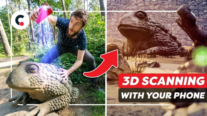 Create a 3D Environment by SCANNING Objects (Polycam)