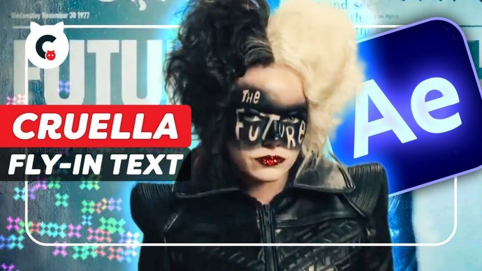 Fly in 3D Newspapers from CRUELLA (After Effects Tutorial)