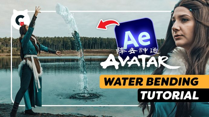 Easily Bend Water Like The avatar (After Effects Tutorial)