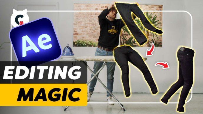Editing Magic: Pants Run Away (After Effects Tutorial)